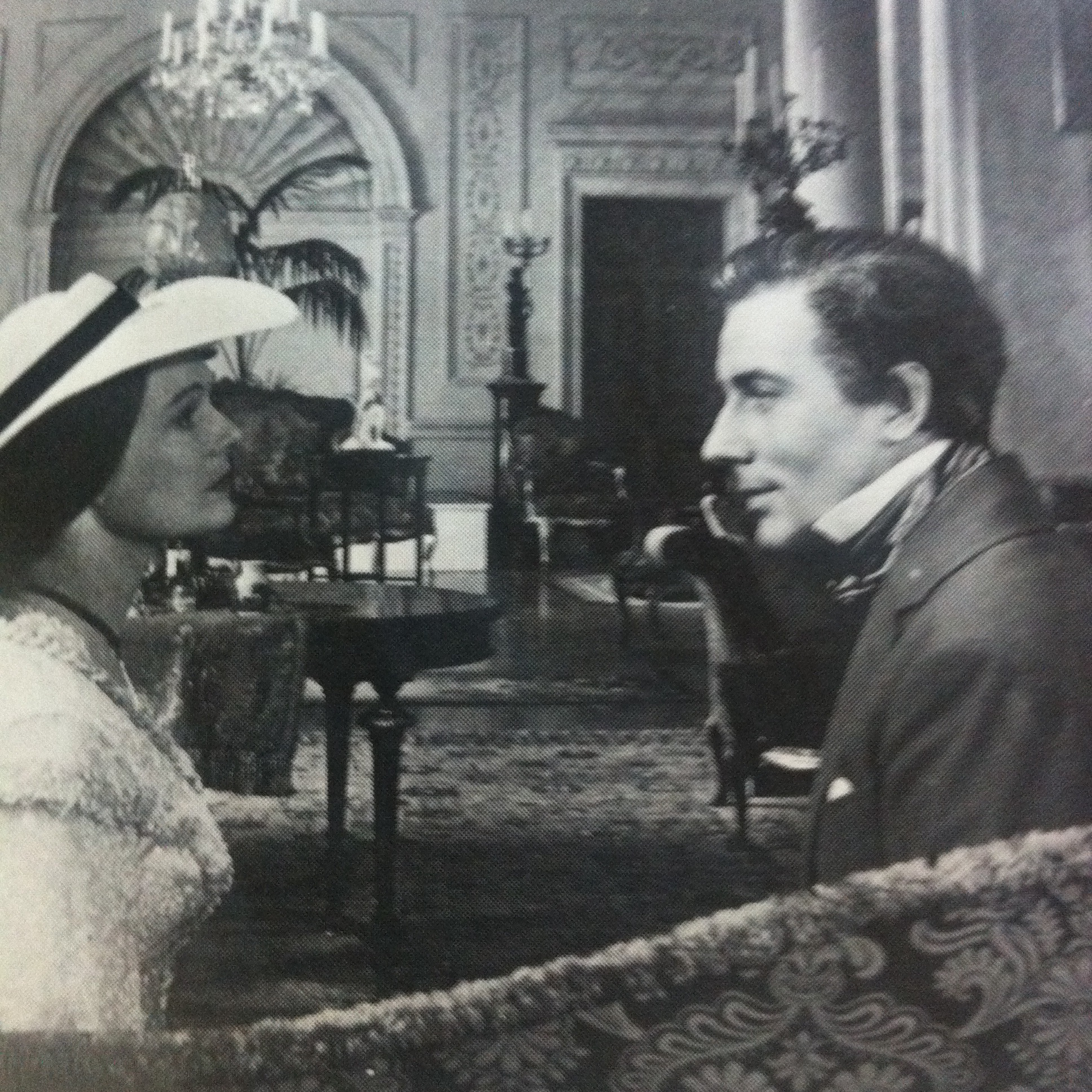 Anna Neagle and Michael Wilding in The Lady with a Lamp (1951)