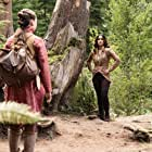 Brittany Curran and Summer Bishil in The Magicians (2015)