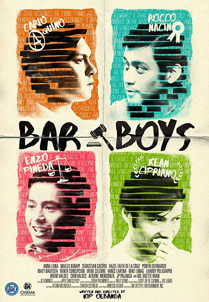 Carlo Aquino, Kean Cipriano, Enzo Pineda, and Rocco Nacino in Bar Boys (2017)