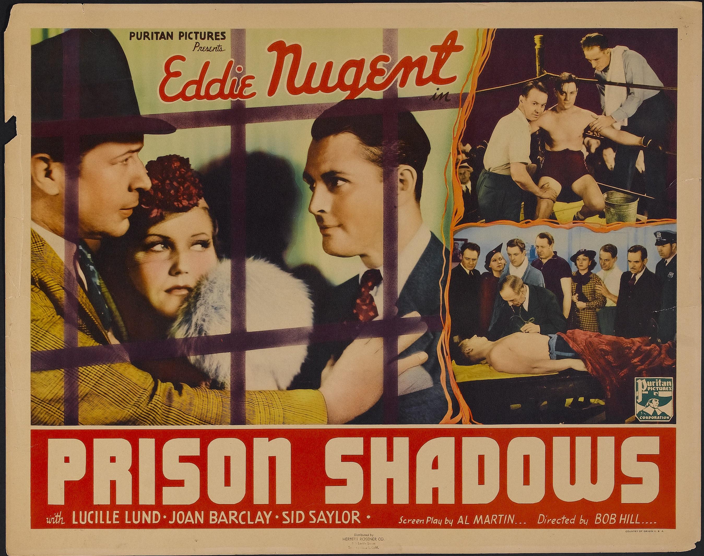 Edward J. Nugent in Prison Shadows (1936)