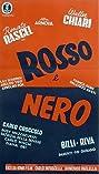 Rosso e nero (1954) Poster