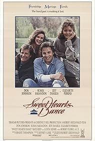 Susan Sarandon, Don Johnson, Jeff Daniels, and Elizabeth Perkins in Sweet Hearts Dance (1988)