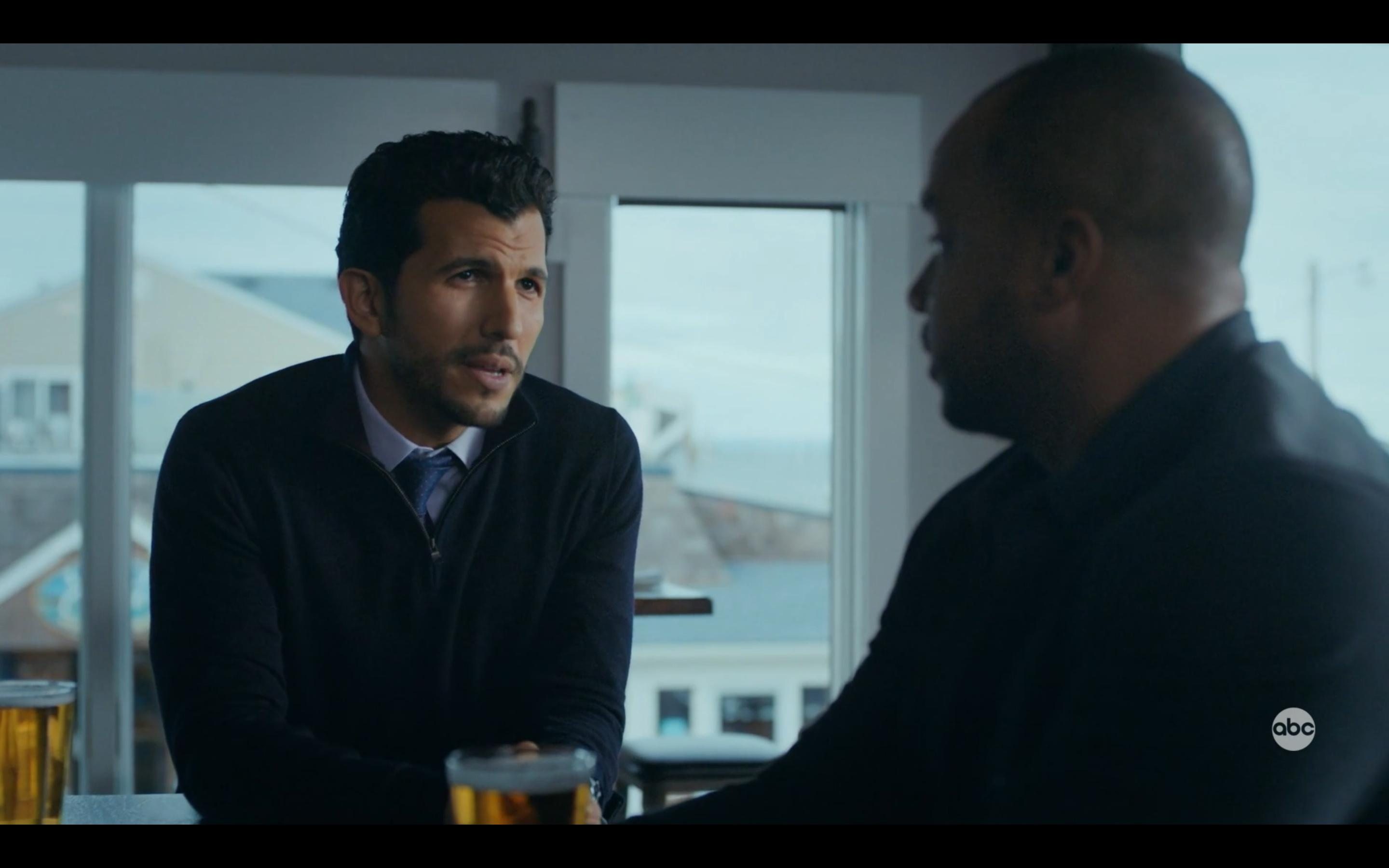 Gabriel Sloyer and Donald Faison in Emergence