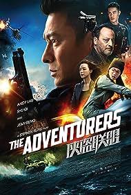 Jean Reno, Andy Lau, and Shu Qi in Xia dao lian meng (2017)