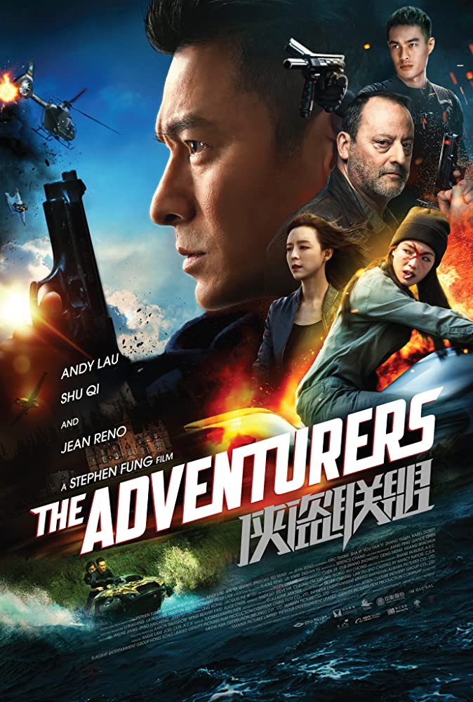 The Adventurers (2017) Dual Audio Hindi 350MB BluRay 480p ESubs
