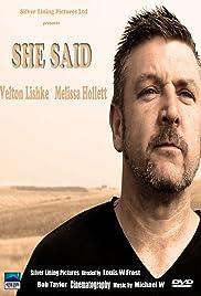 She Said Poster