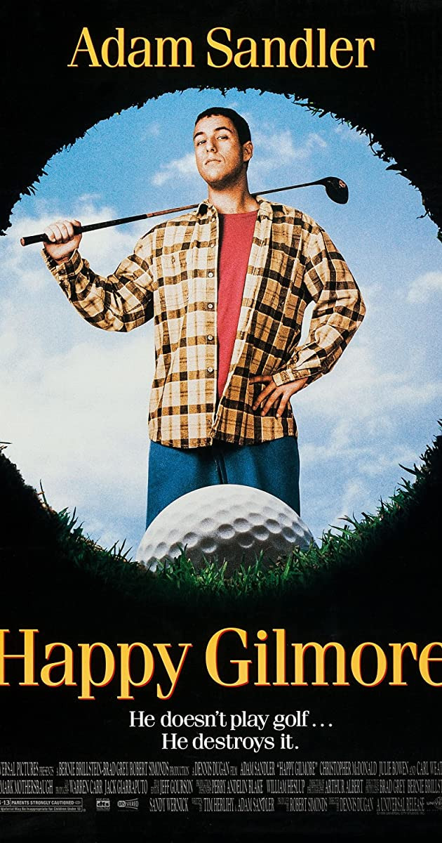 Watch Full HD Movie Happy Gilmore (1996)