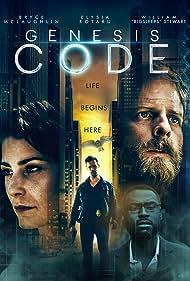 Bryce McLaughlin, Nelson Leis, William 'Big Sleeps' Stewart, and Elysia Rotaru in Genesis Code (2020)
