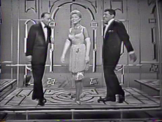 Bing Crosby, Dean Martin, and Mitzi Gaynor in The Frank Sinatra Show (1957)