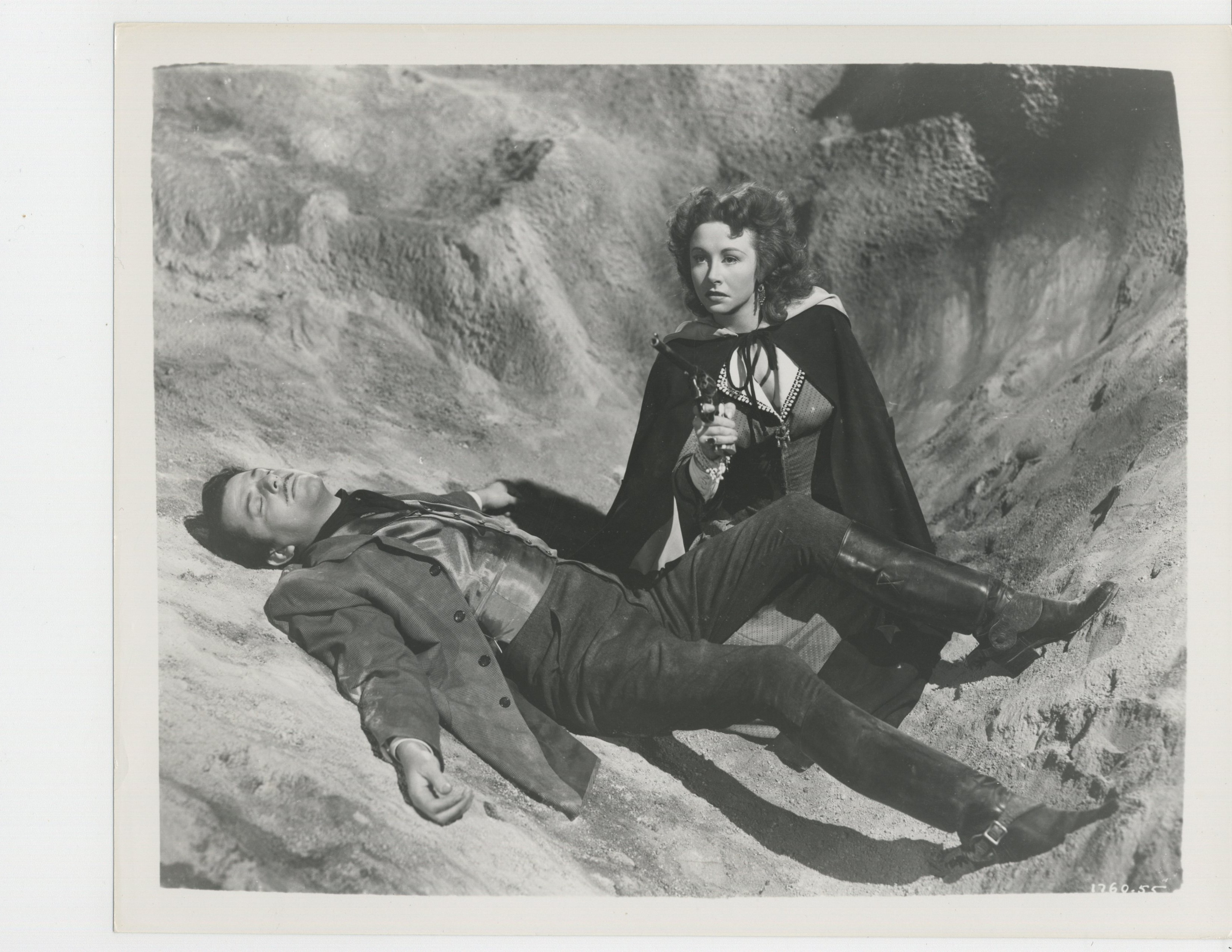 John Carroll and Vera Ralston in Surrender (1950)