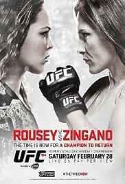 UFC 184: Rousey vs. Zingano (2015)