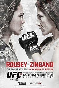 Primary photo for UFC 184: Rousey vs. Zingano