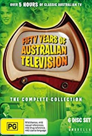 Fifty Years of Australian Television Poster