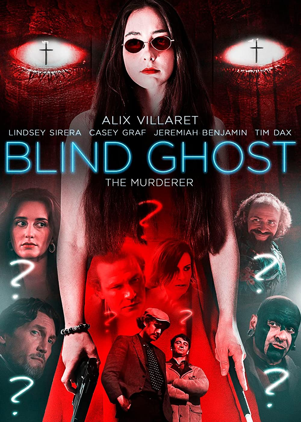 Blind Ghost 2021 English 720p HDRip 800MB Download