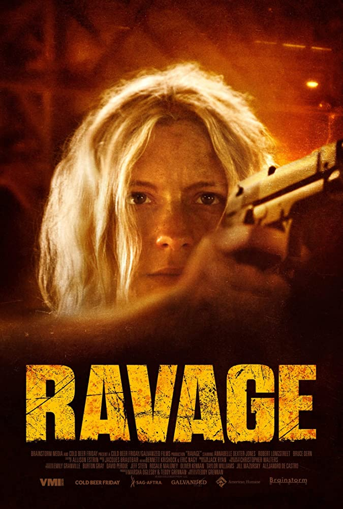 Ravage 2020 English Movie 720p HDRip 800MB x264 AAC