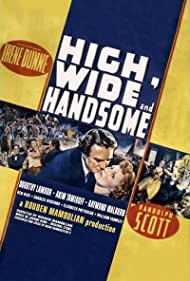Randolph Scott, Irene Dunne, and Dorothy Lamour in High, Wide and Handsome (1937)