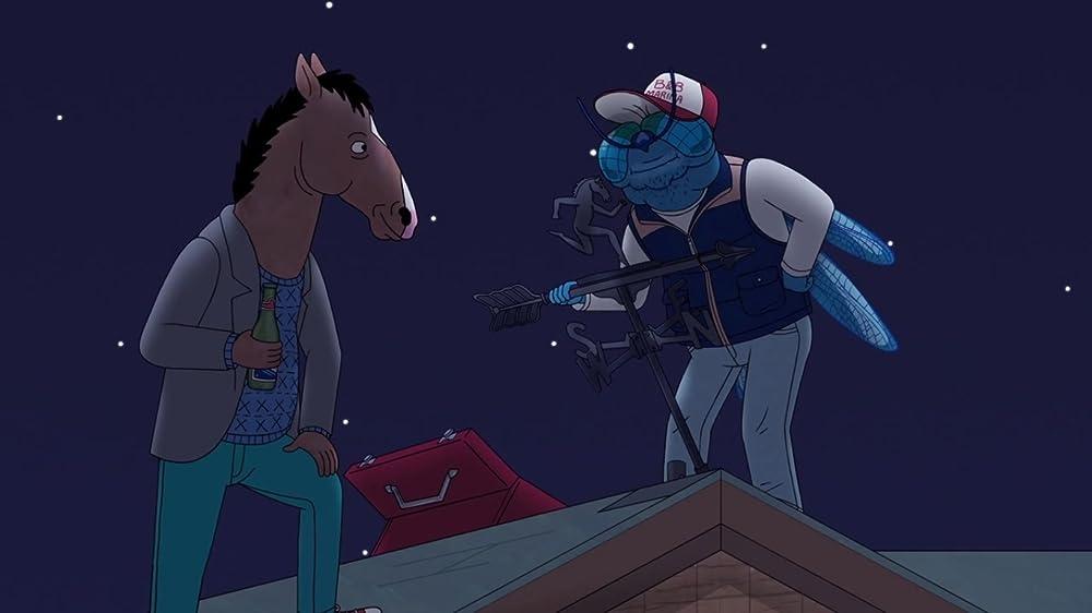 Bojack Horseman 4×02 – El Viejo Lugar del Hombre Azucarado