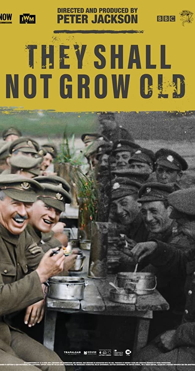 Subtitle of They Shall Not Grow Old