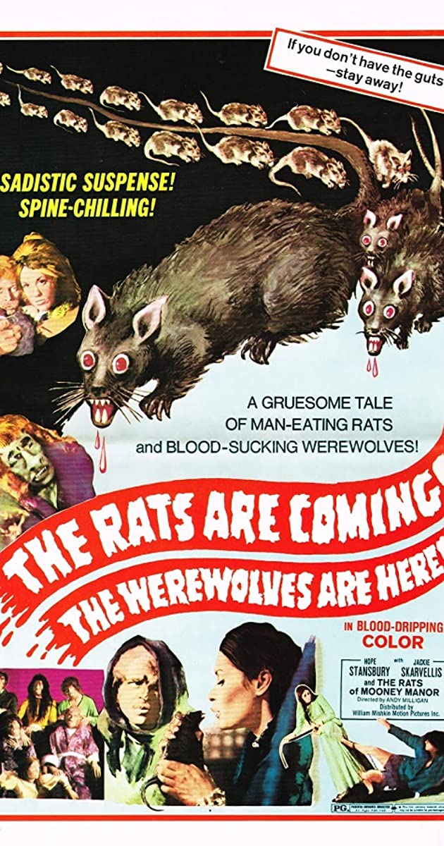 Subtitle of The Rats Are Coming! The Werewolves Are Here!