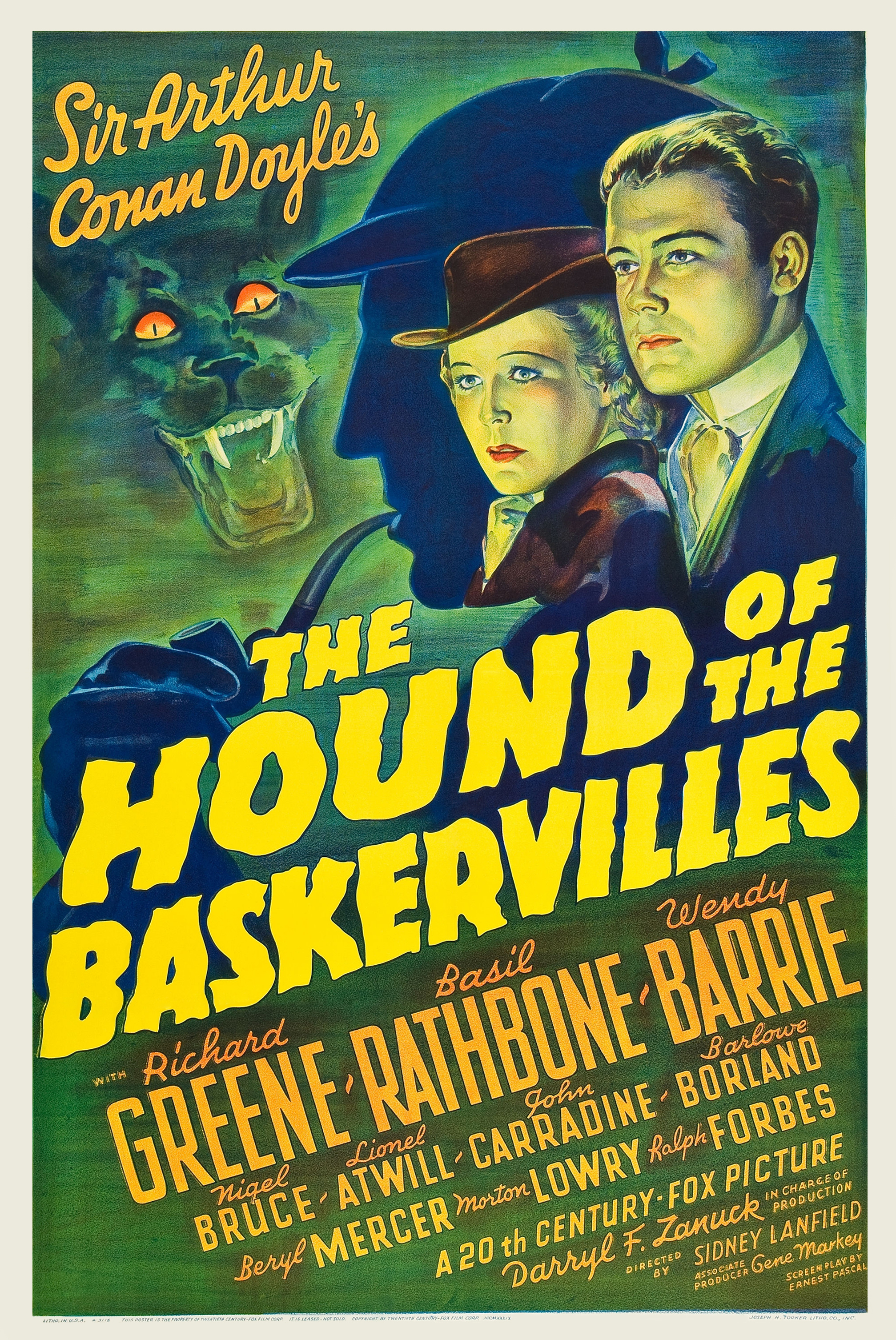 The Hound of the Baskervilles (1939) - IMDb