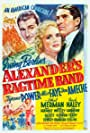 Tyrone Power, Don Ameche, and Alice Faye in Alexander's Ragtime Band (1938)