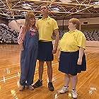 Gina Riley, Peter Rowsthorn, and Magda Szubanski in Kath & Kim (2002)