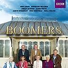 Stephanie Beacham, Russ Abbot, Philip Jackson, James Smith, Alison Steadman, June Whitfield, and Paula Wilcox in Boomers (2014)