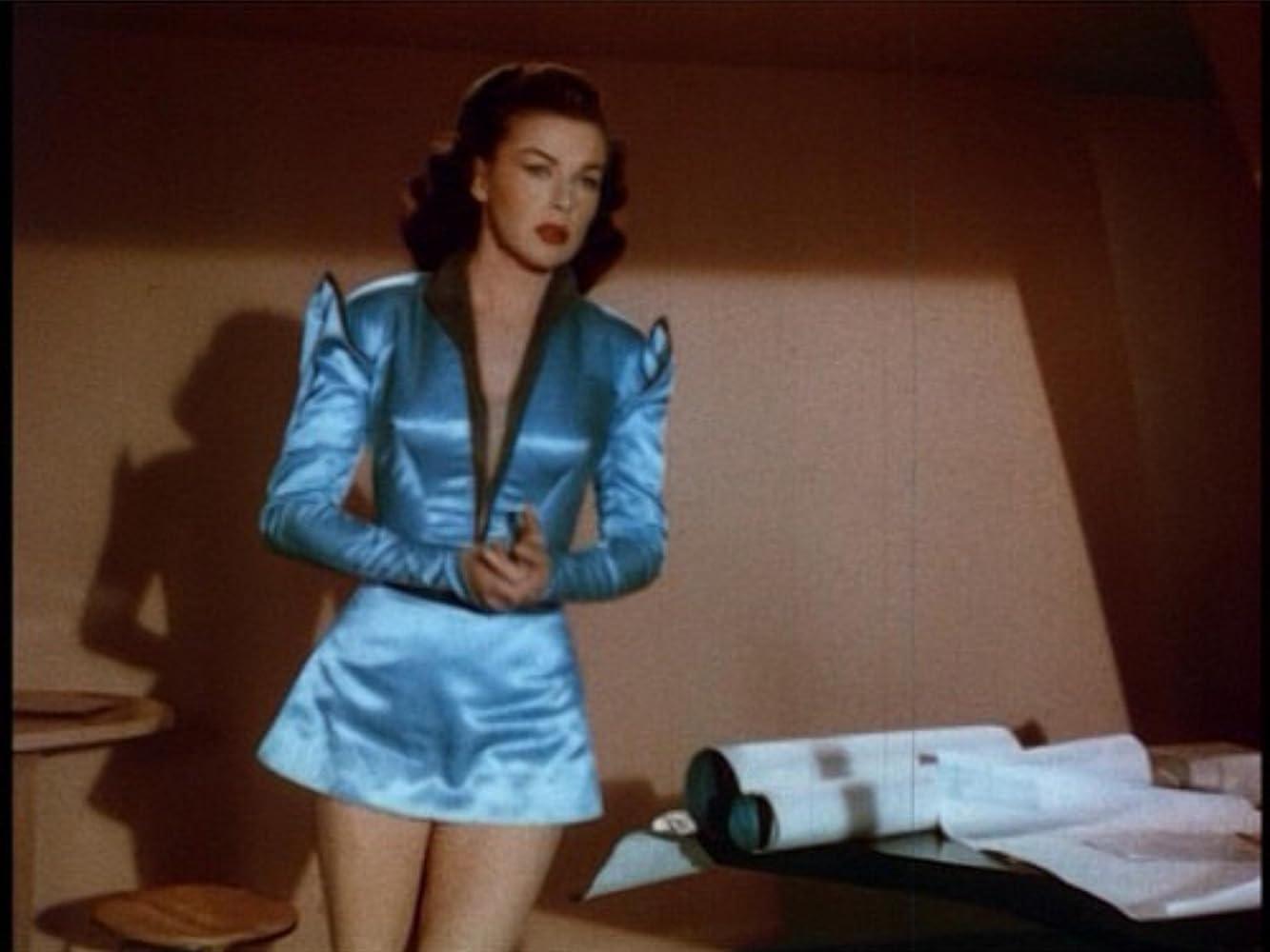Marguerite Chapman in Volo su Marte (1951)