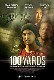 100 Yards Poster