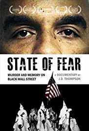 State of Fear: Murder and Memory on Black Wall Street Poster