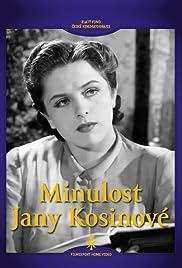 Minulost Jany Kosinové Poster