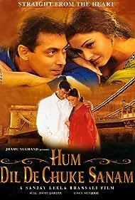Salman Khan, Ajay Devgn, and Aishwarya Rai Bachchan in Hum Dil De Chuke Sanam (1999)
