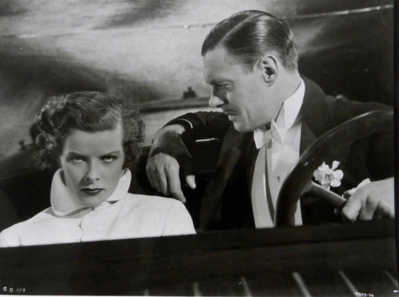 Katharine Hepburn and Colin Clive in Christopher Strong (1933)