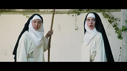 Medieval nuns Alessandra (Alison Brie), Fernanda (Aubrey Plaza), and Ginevra (Kate Micucci) lead a simple life in their convent. Their days are spent chafing at monastic routine, spying on one another, and berating the estate's day laborer. After a particularly vicious insult session drives the peasant away, Father Tommasso (John C. Reilly) brings on new hired hand Massetto (Dave Franco), a virile young servant forced into hiding by his angry lord. Introduced to the sisters as a deaf-mute to discourage temptation, Massetto struggles to maintain his cover as the repressed nunnery erupts in a whirlwind of pansexual horniness, substance abuse, and wicked revelry.