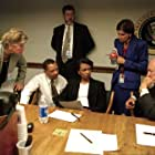 Dick Cheney and Condoleezza Rice in 9/11: Inside the President's War Room (2021)