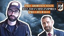 Representante demócrata provoca manifestación pro-vida
