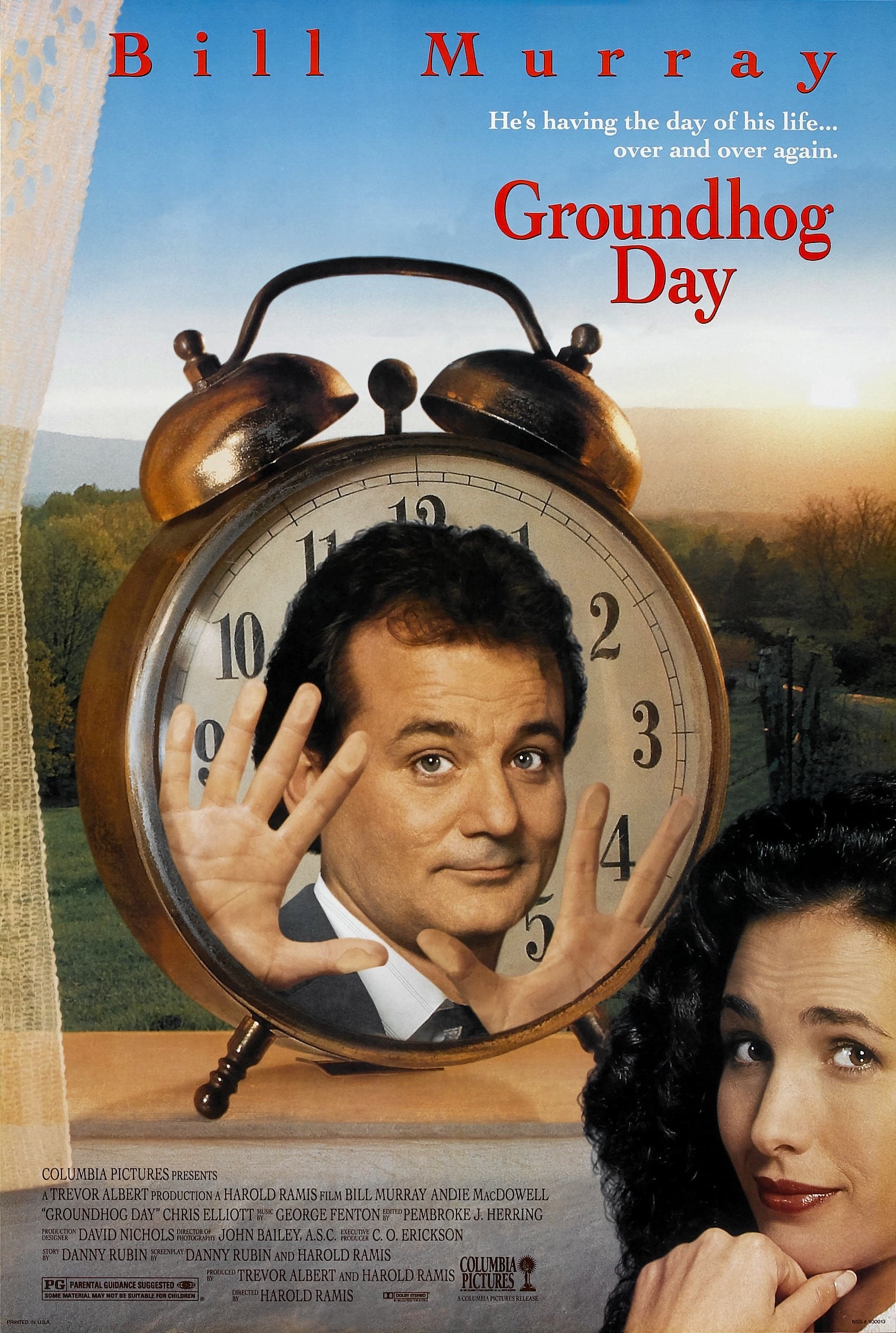 Groundhog Day (1993) BluRay 720p & 1080p