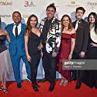 John Campbell-Mac, Elizabeth Rossi, Sandro Monetti, Lisa Gorgin, and Brad Lewis at an event for My Favourite Muff (2019)
