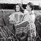 Milena Dvorská and Vladimír Ráz in Byl jednou jeden král... (1955)