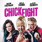 Alec Baldwin, Malin Akerman, and Bella Thorne in Chick Fight (2020)