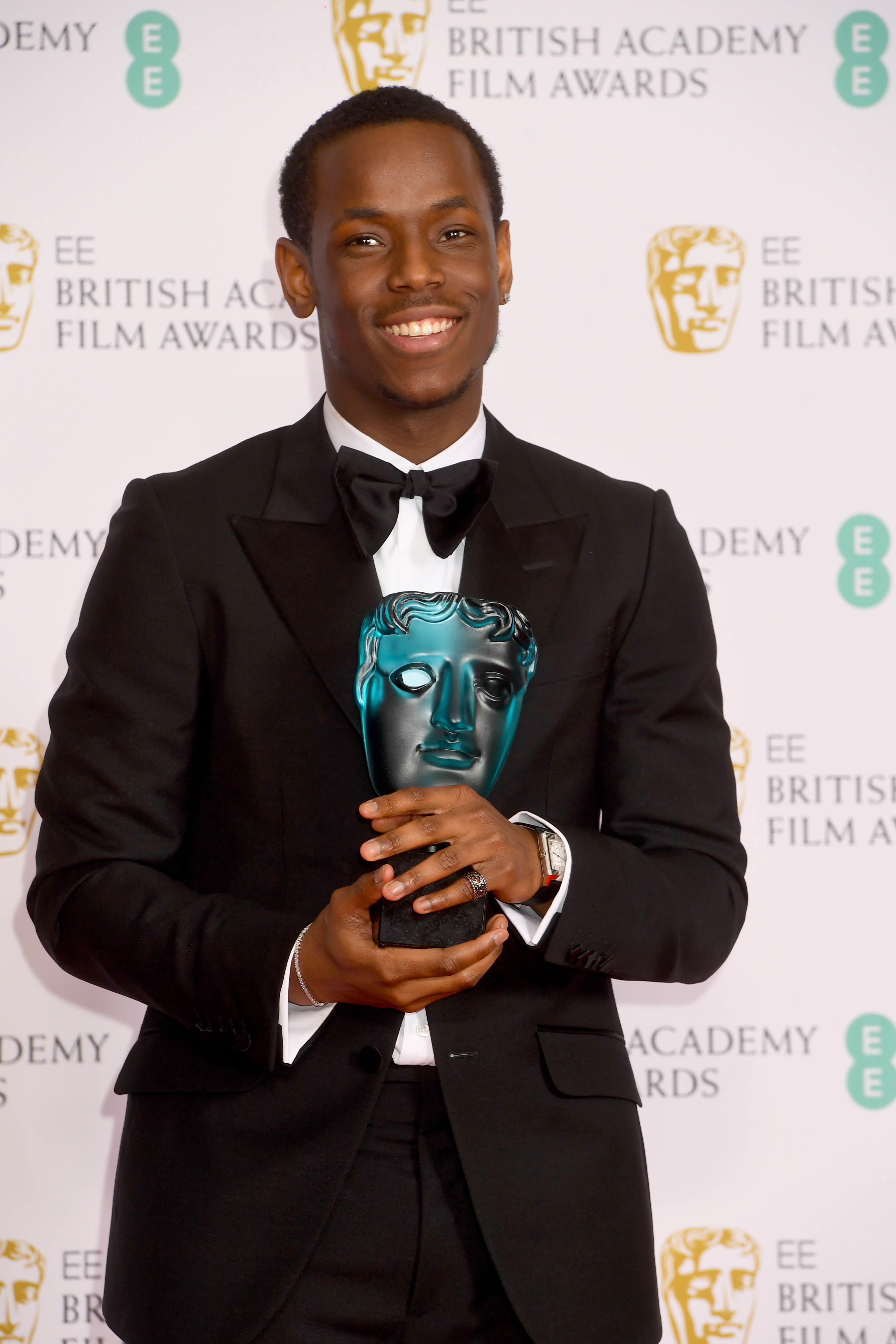 Micheal Ward at an event for EE British Academy Film Awards (2020)