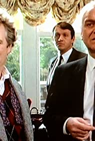 Philip McGough, John Thaw, and Kevin Whately in Inspector Morse (1987)