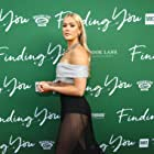 Rose at the premier of Finding You.