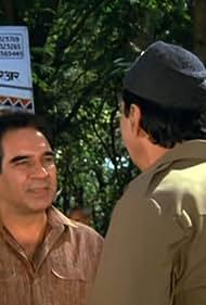 Prem Chopra and Kulbhushan Kharbanda in Mera Muqaddar (1988)