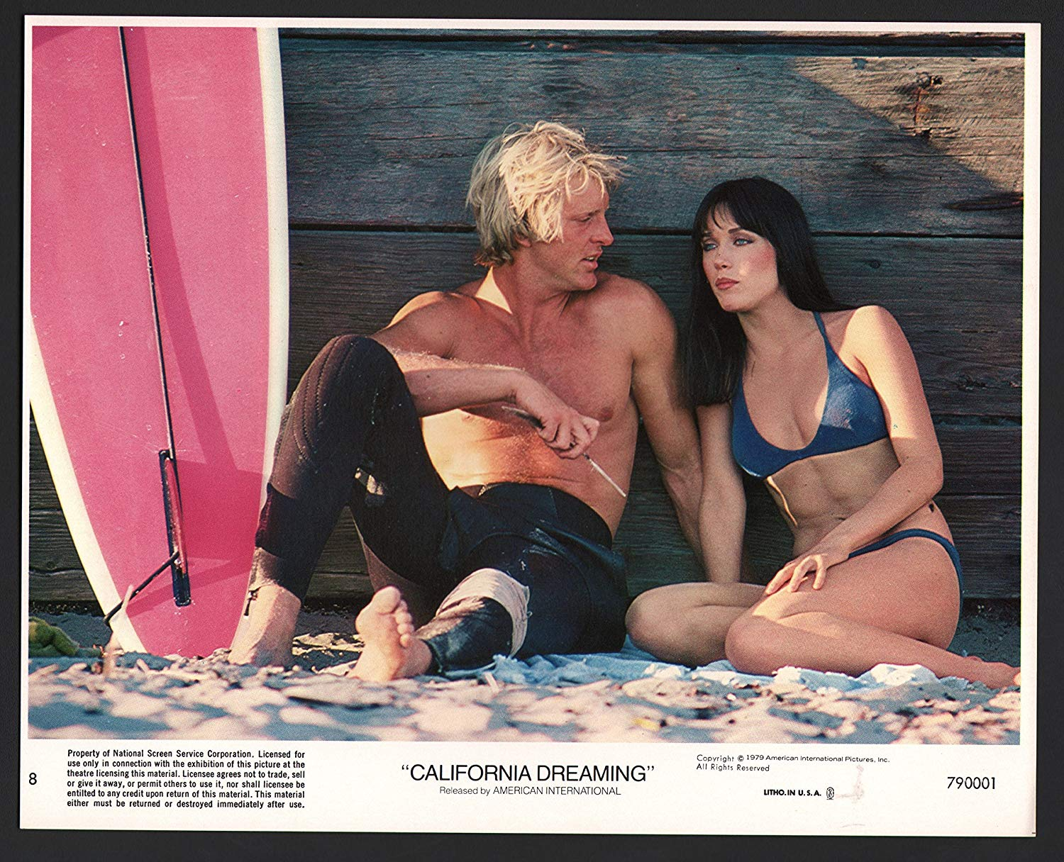 Tanya Roberts and John Calvin in California Dreaming (1979)