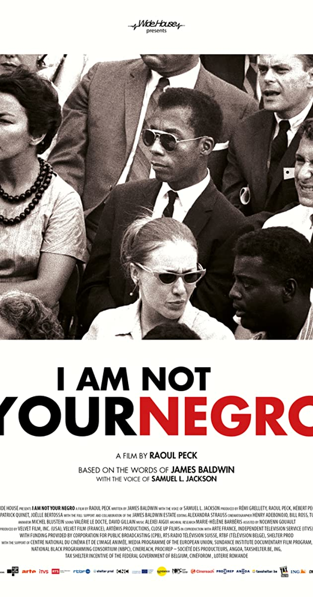 Subtitle of I Am Not Your Negro