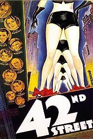 Warner Baxter, George Brent, Bebe Daniels, Allen Jenkins, Ruby Keeler, Guy Kibbee, Una Merkel, Ned Sparks, and George E. Stone in 42nd Street (1933)