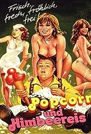 Popcorn und Himbeereis Poster