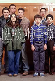 Linda Cardellini, John Francis Daley, James Franco, Samm Levine, Seth Rogen, Martin Starr, and Jason Segel in Freaks and Geeks (1999)