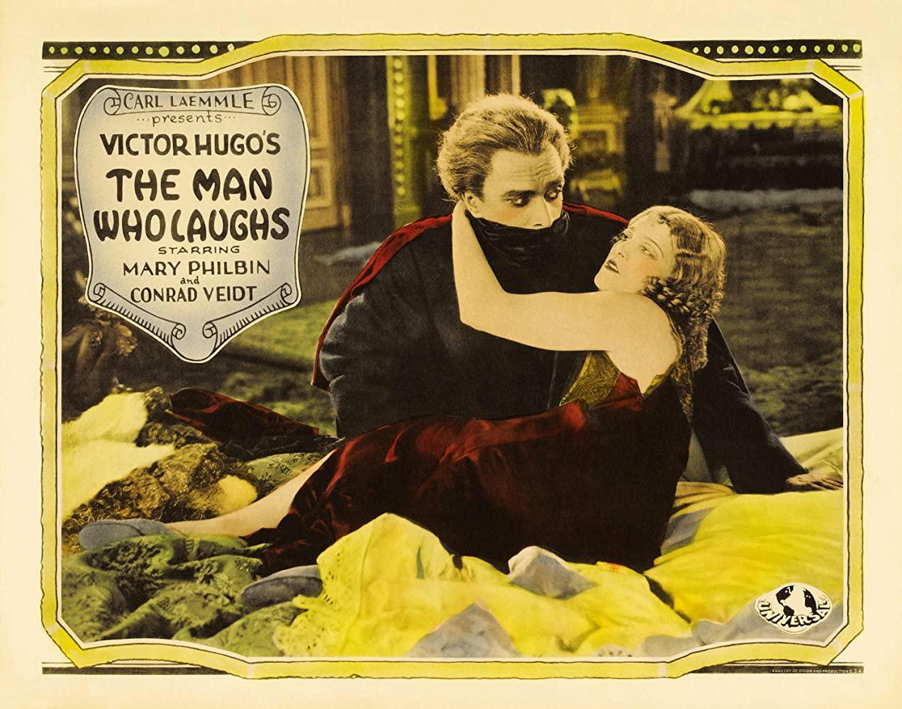 Olga Baclanova and Conrad Veidt in The Man Who Laughs (1928)